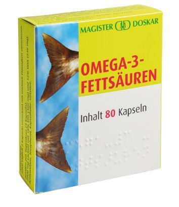 Doskar Omega-3- Fettsäure 80 Kapseln