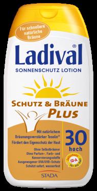LADIVAL® Schutz & Bräune PLUS Sonnenschutz Lotion LSF 30