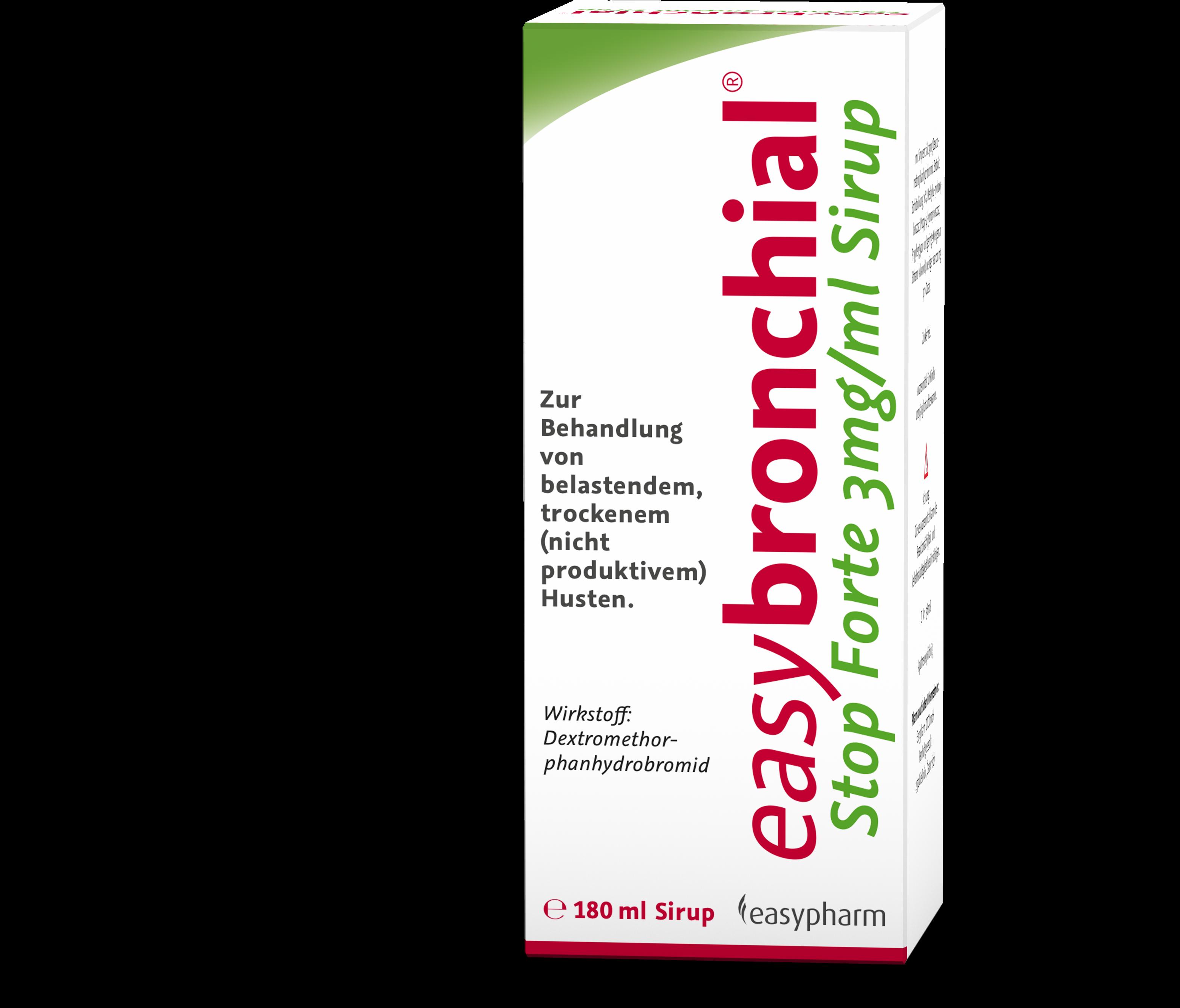 easybronchial Stop forte 3 mg/ml - Sirup