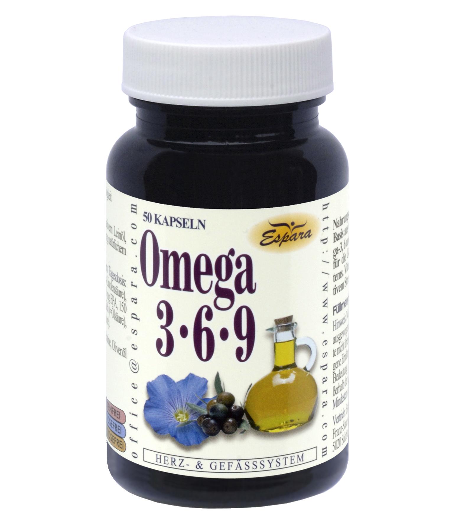 Espara Omega 3-6-9 Kapseln