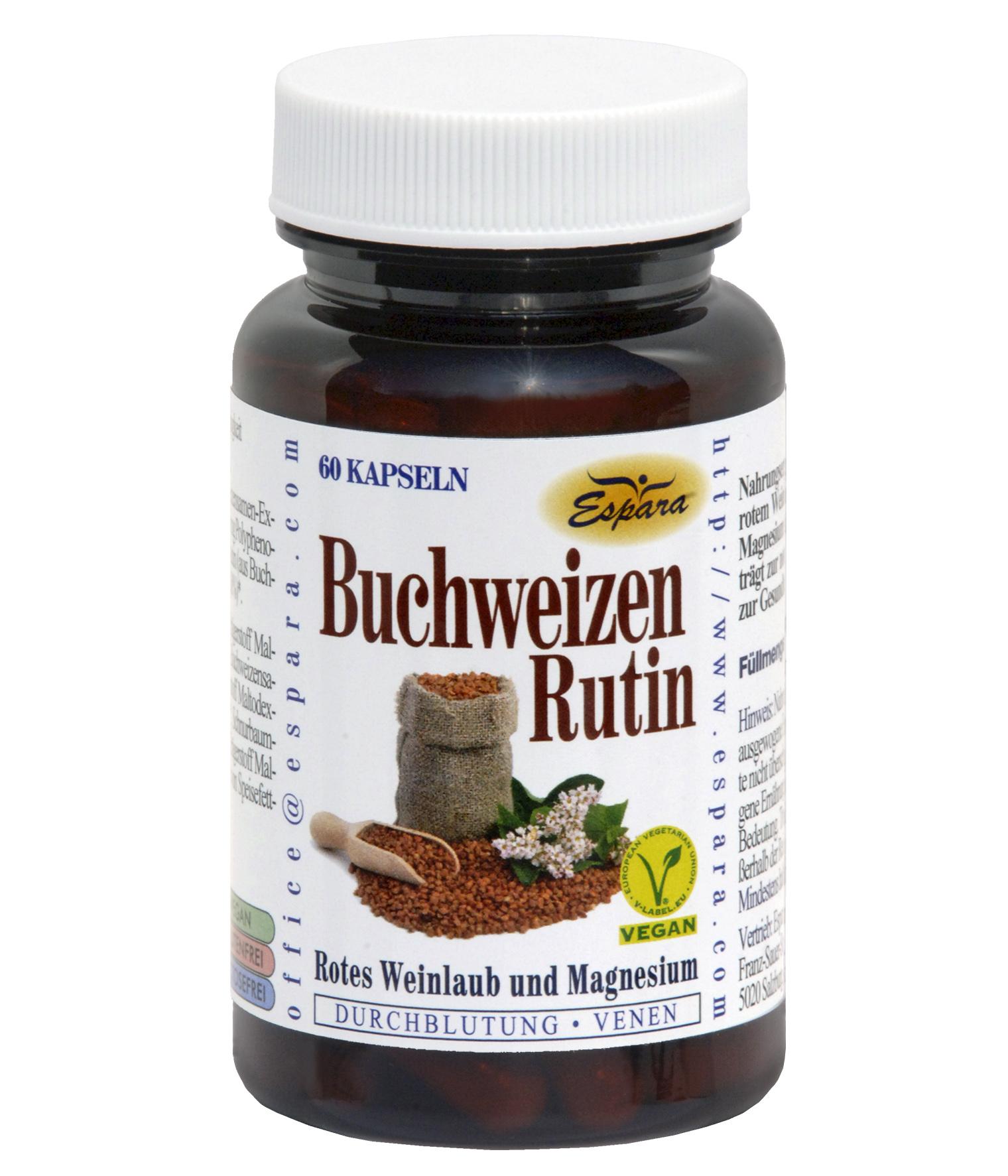 Espara Buchweizen-Rutin Kapseln