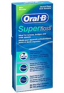 Oral-B SuperFloss 50 Fäden