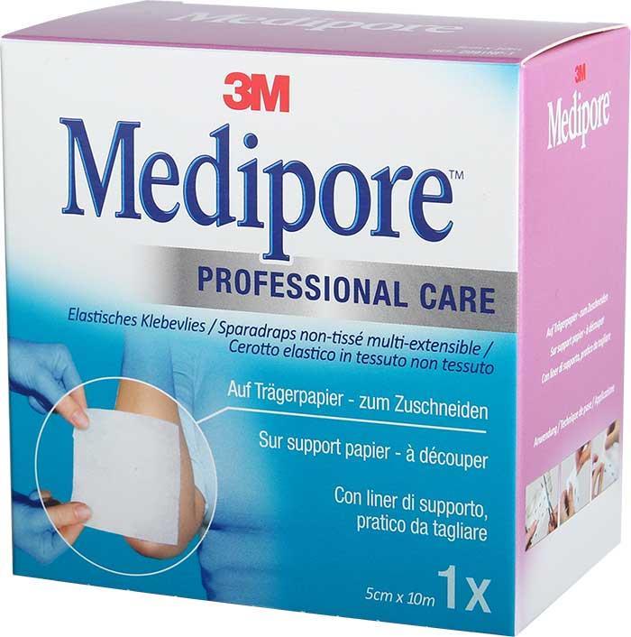 3M Medipore on Liner 5 cm x 10 m