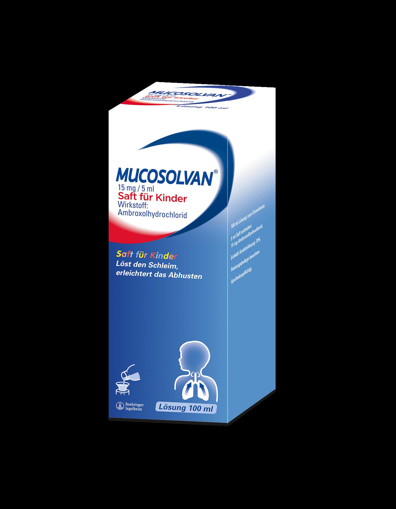 Mucosolvan® 15 mg/5 ml - Saft