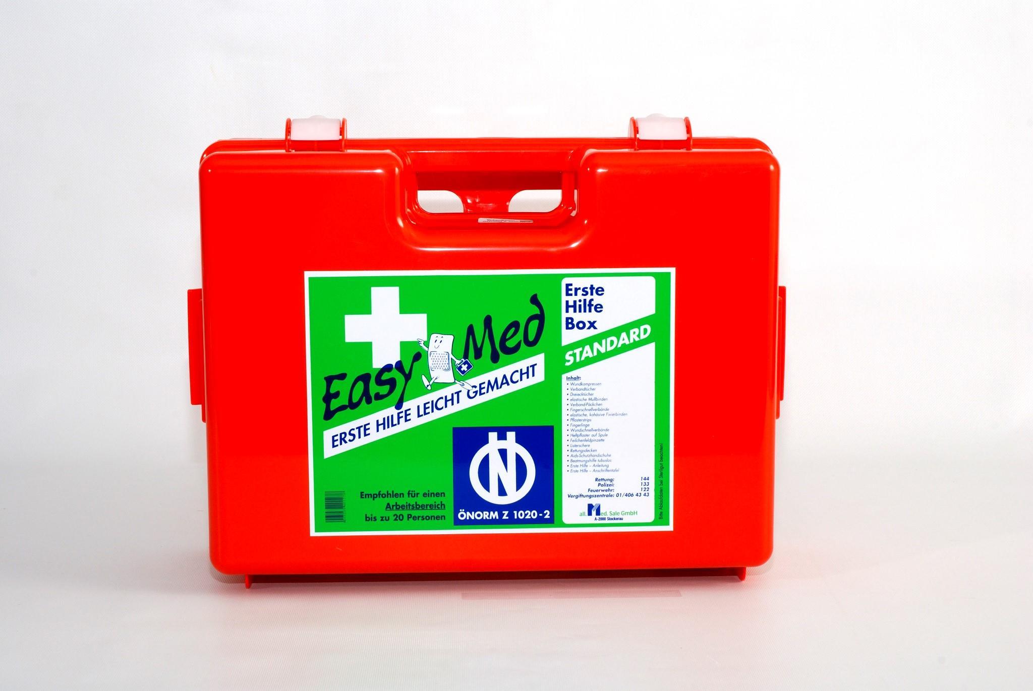 EasyMedErste Hilfe Kasten Standard Type 2
