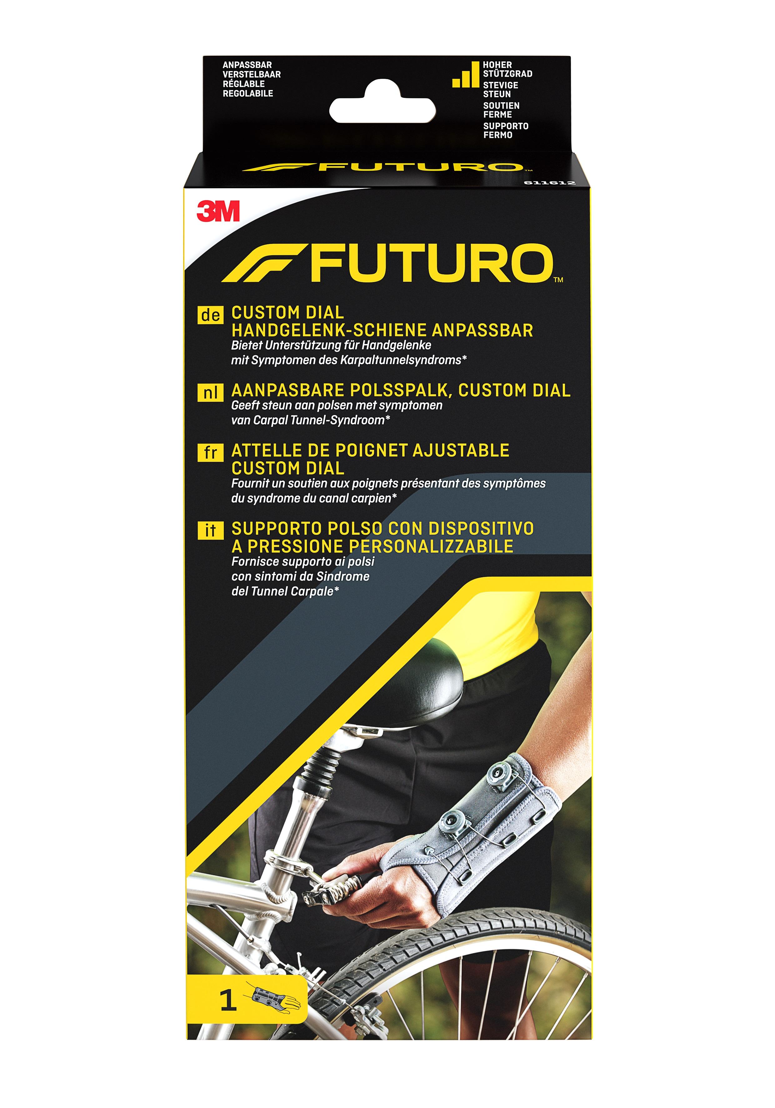 FUTURO™ Custom Dial Handgelenkschiene anpassbar