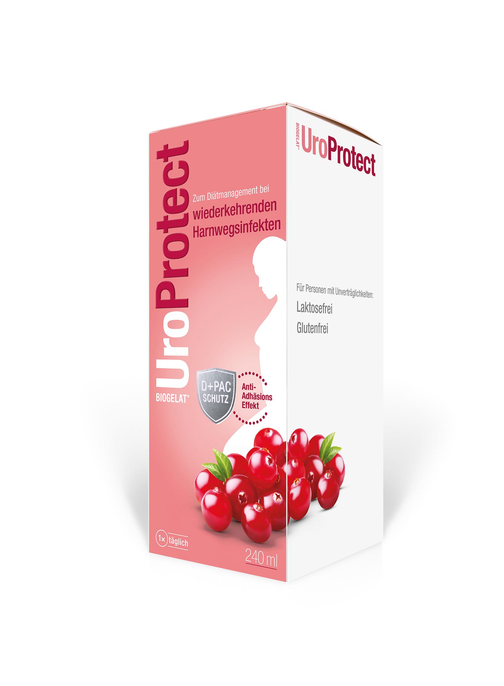 Biogelat UroProtect D-Mannose plus Cranberry Liquidum
