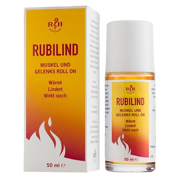 Rubilind rot Muskel- und Gelenks Roll On