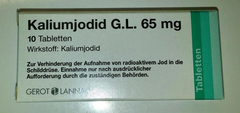 Kaliumjodid G.L. 65 mg - Tabletten