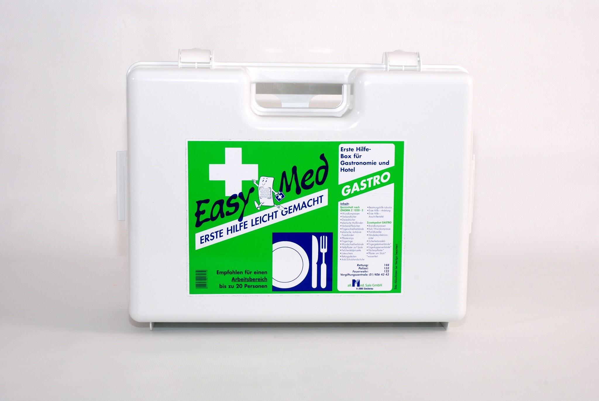 EasyMed Erste Hilfe Kasten Gastro Type 2
