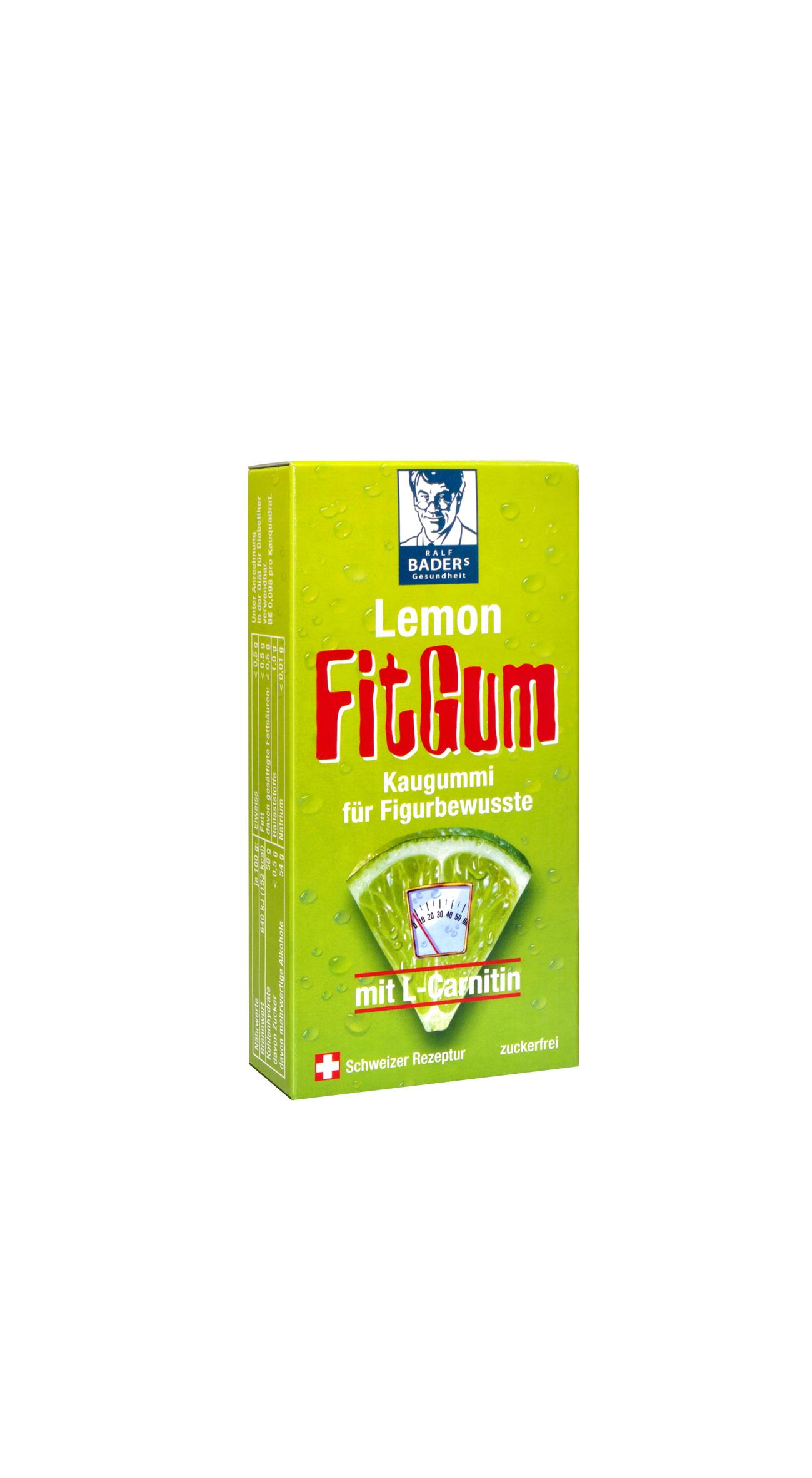 Baders Lemon FitGum 16 Stk.