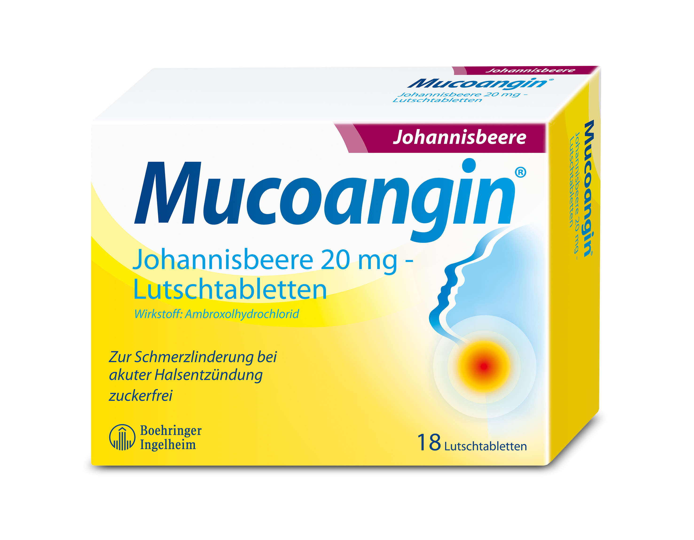 Mucoangin® Lutschtabletten gegen Halsschmerzen