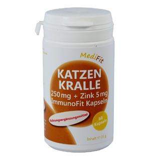 Katzenkralle 250 mg + Zink ImmunoFit Kapseln