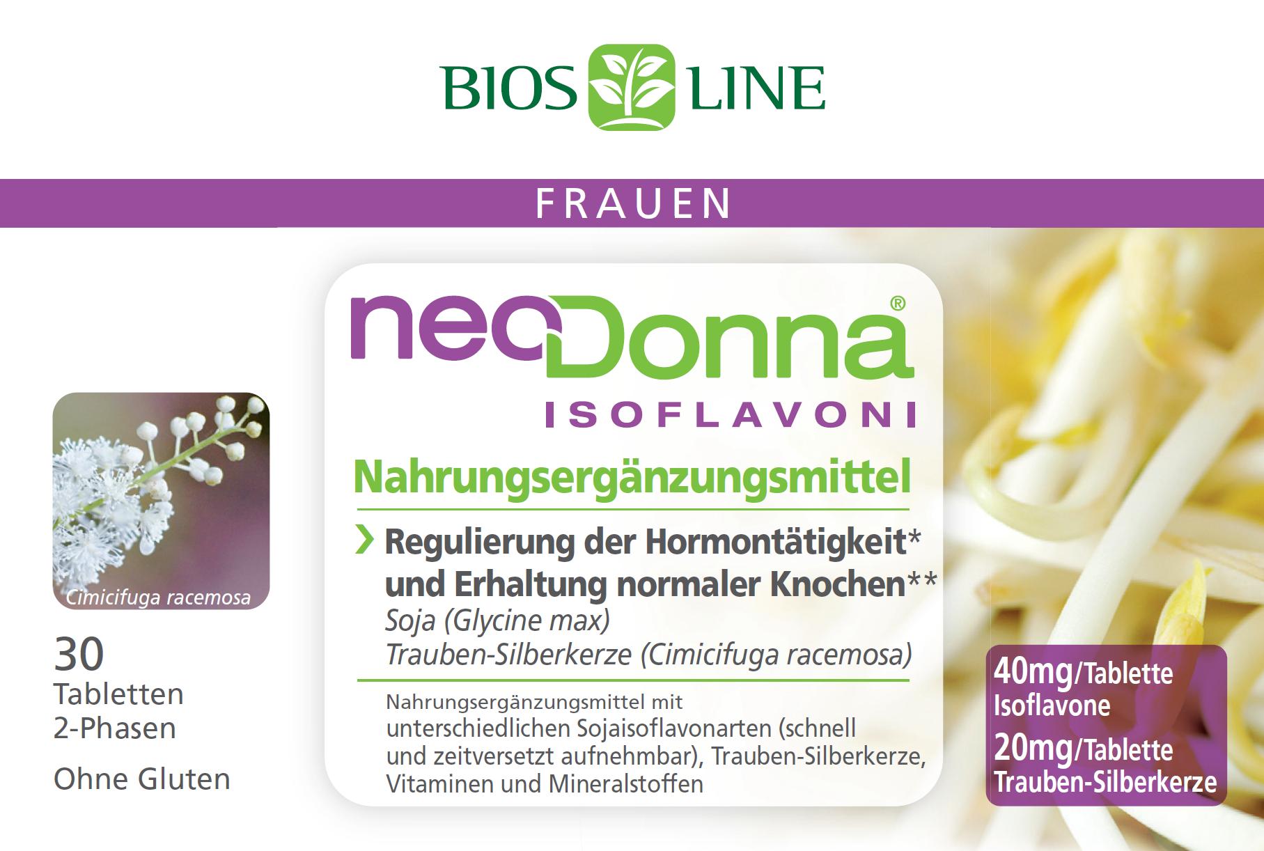 Neodonna 2-Phasen Retard Tabletten Bios Line