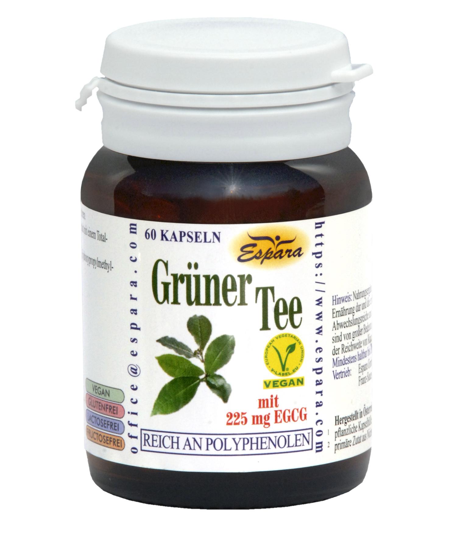 Espara Grüner Tee Kapseln