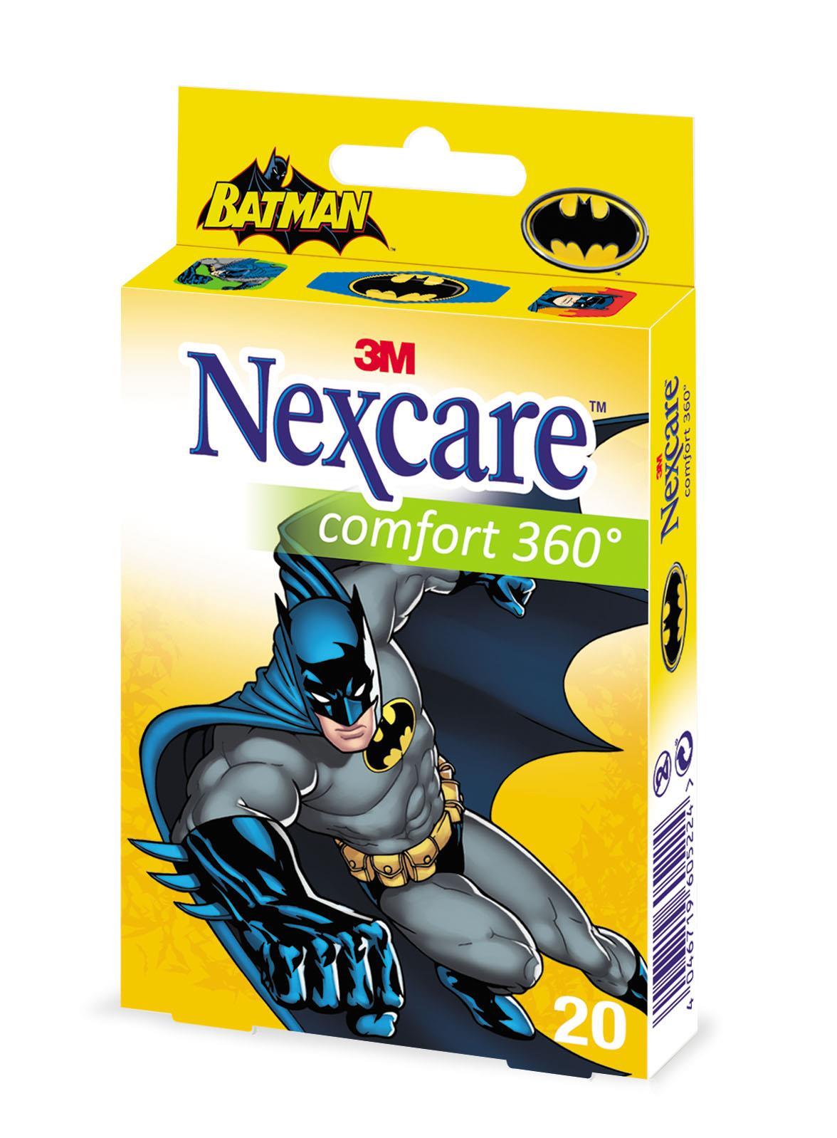 3M Nexcare Kinderpflaster Comfort 360° Batman