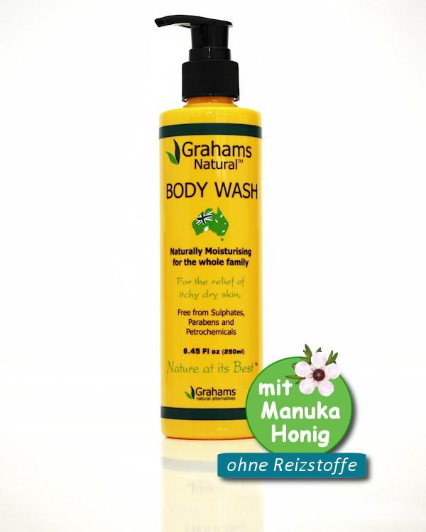 Grahams Natural Body Wash 250ml