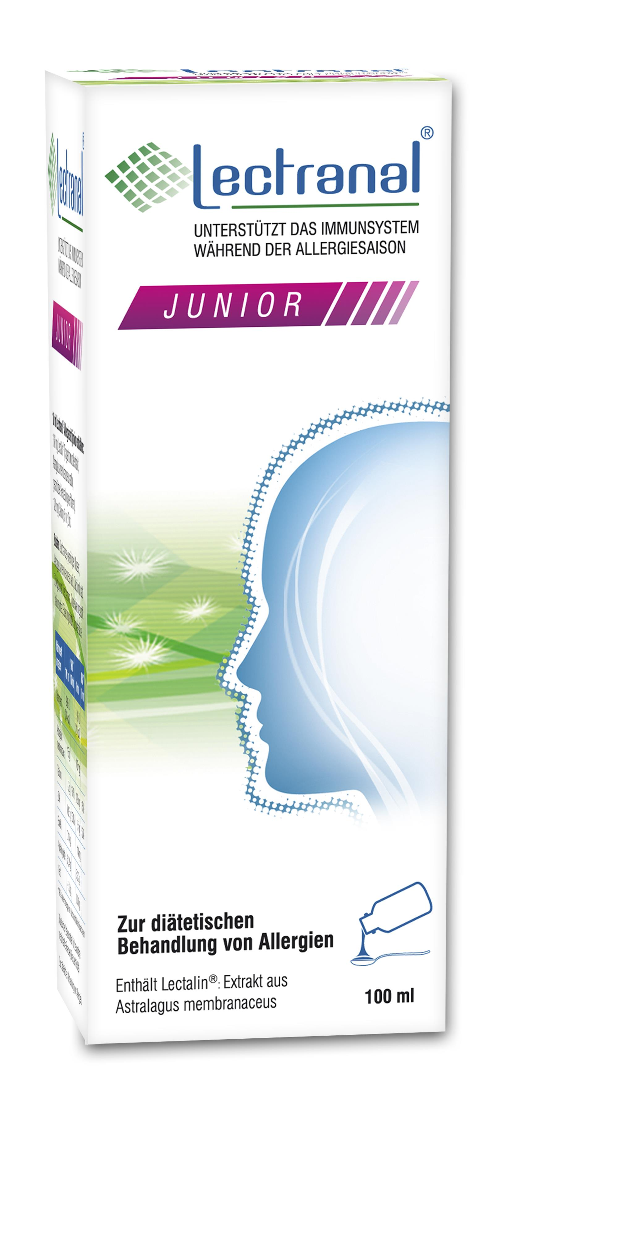 Lectranal® Allergiesaft junior 160mg/10ml