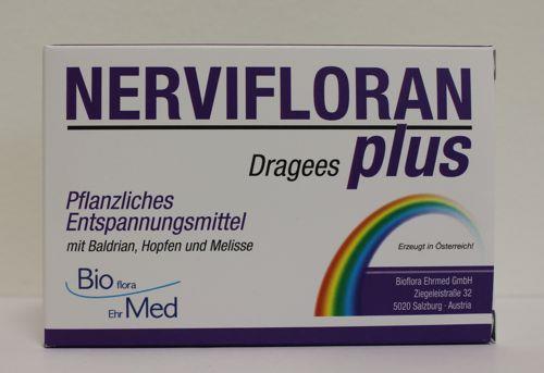 Nervifloran Plus Dragees Bioflora Ehrmed