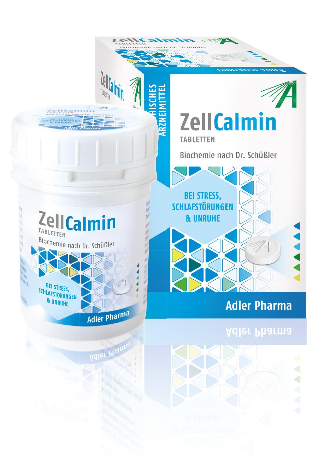 Biochemie nach Dr. Schüssler Zell Calmin - Tabletten