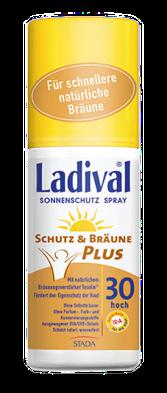 LADIVAL® Schutz & Bräune PLUS Sonnenschutz Spray LSF 30