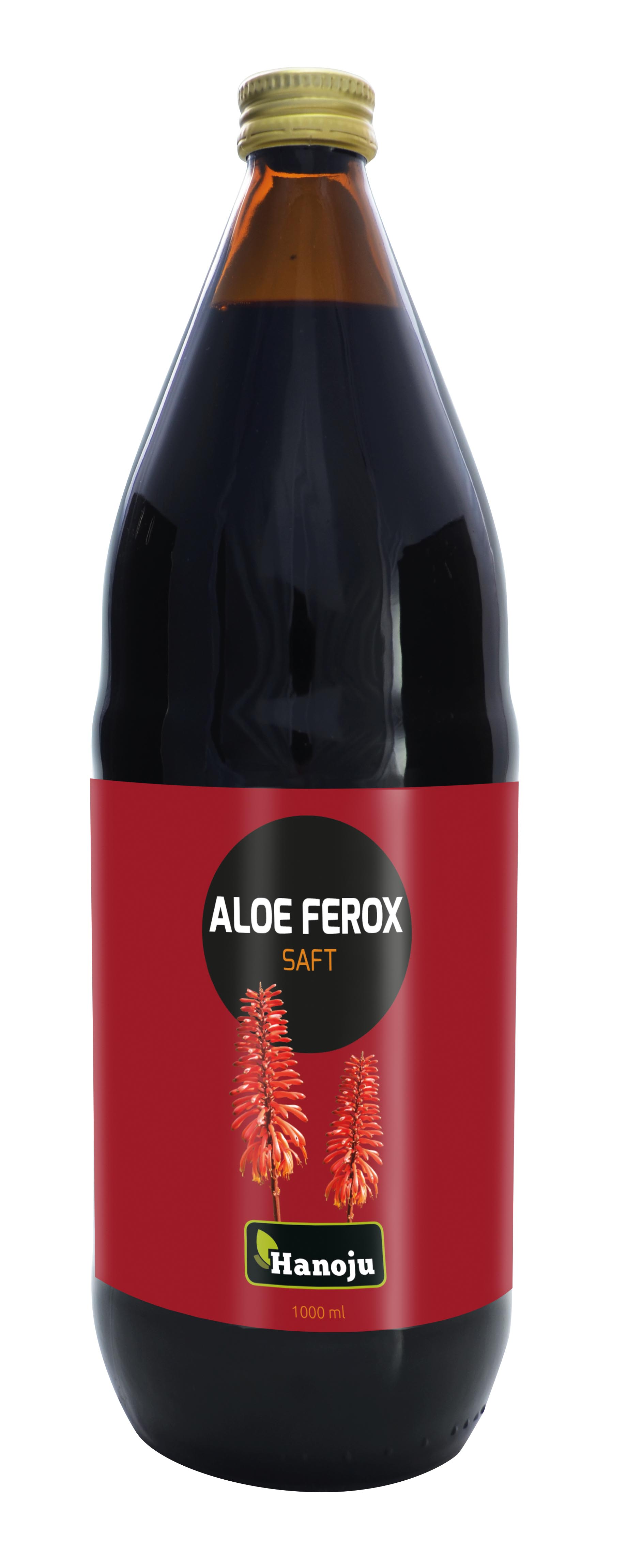 Hanoju Aloe Ferox Ganzblattsaft