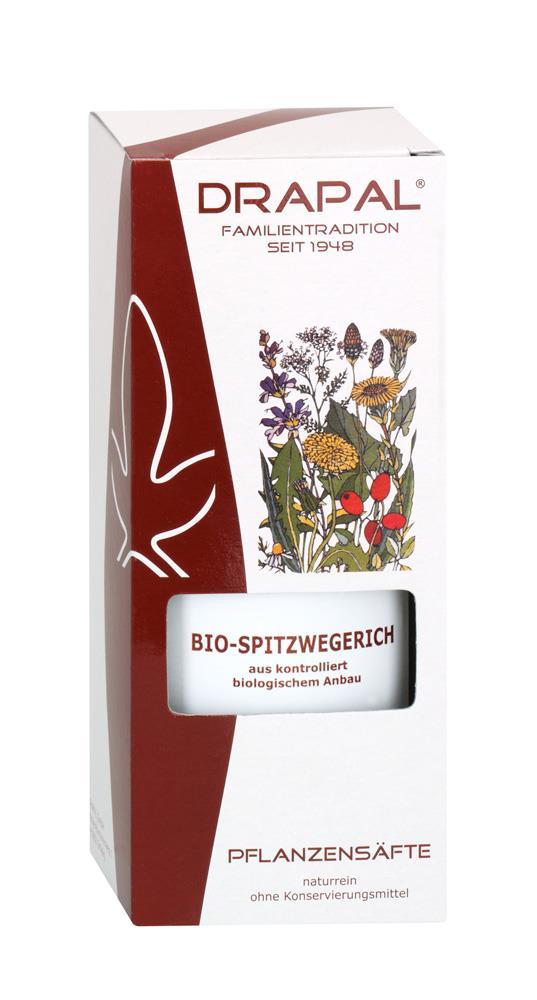 DRAPAL® Spitzwegerich bio Pflanzensaft