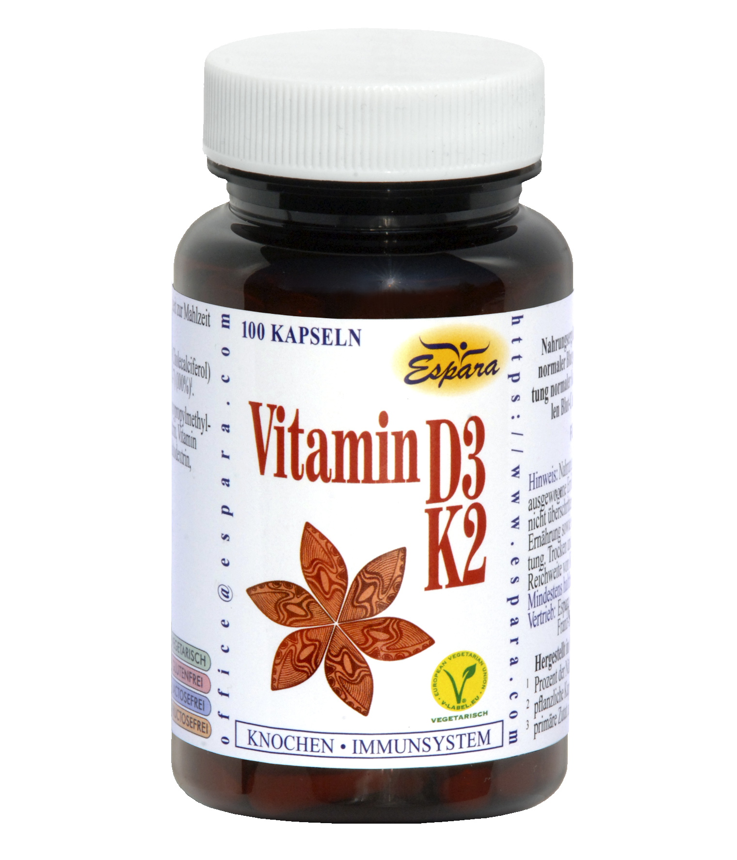 Espara Vitamin D3-K2 Kapseln