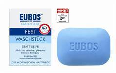 Eubos Waschstück blau 125g