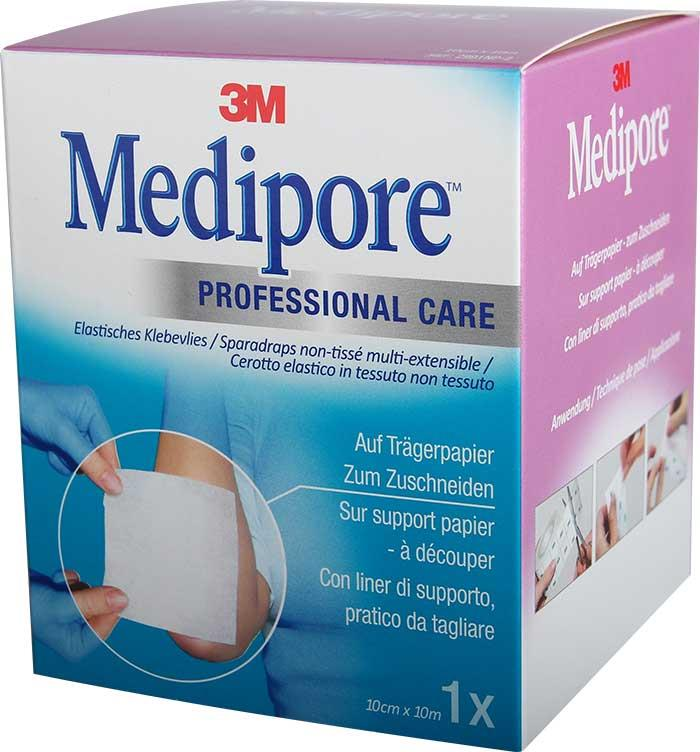 3M Medipore on Liner 10 cm x 10 m
