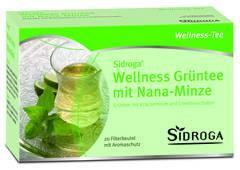 Sidroga Wellness Grüntee mit Nana-Minze 20 Beutel