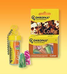 Ohropax Geräuschschutz Color