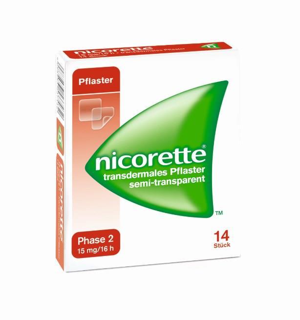 Nicorette 25 mg/16 h - transdermales Pflaster