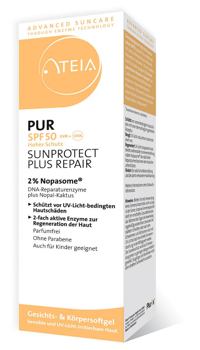 ATEIA® PUR SPF50 Gesichts- & Körpersoftgel Sunprotect plus Repair