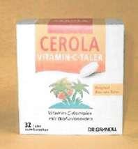 Cerola Vitamin C Taler