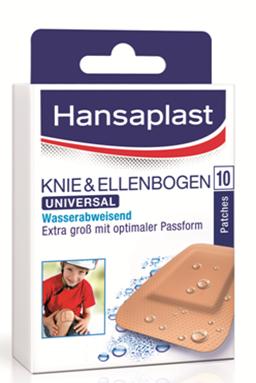 Hansaplast Universal Knie&Ellen-bogen wasserabweisend