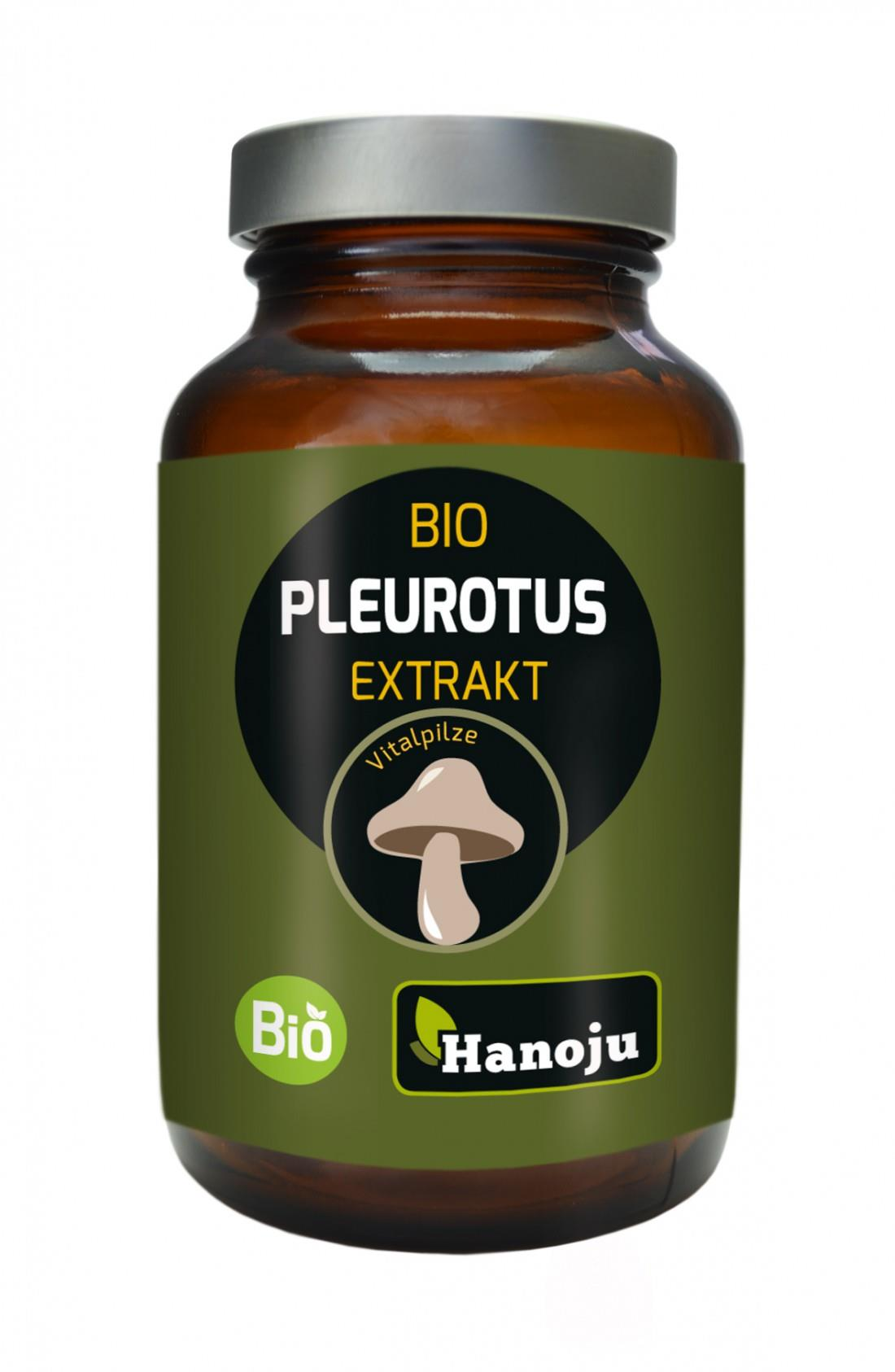 Bio Pleurotus Extrakt Kapseln Hanoju