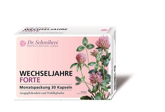 Dr. Schreibers Wechseljahre Forte