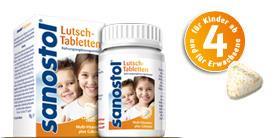 Sanostol® Lutsch-Tabletten Multi-Vitamine plus Calcium