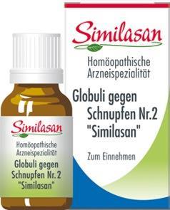 "Globuli gegen Schnupfen ""Similasan"""