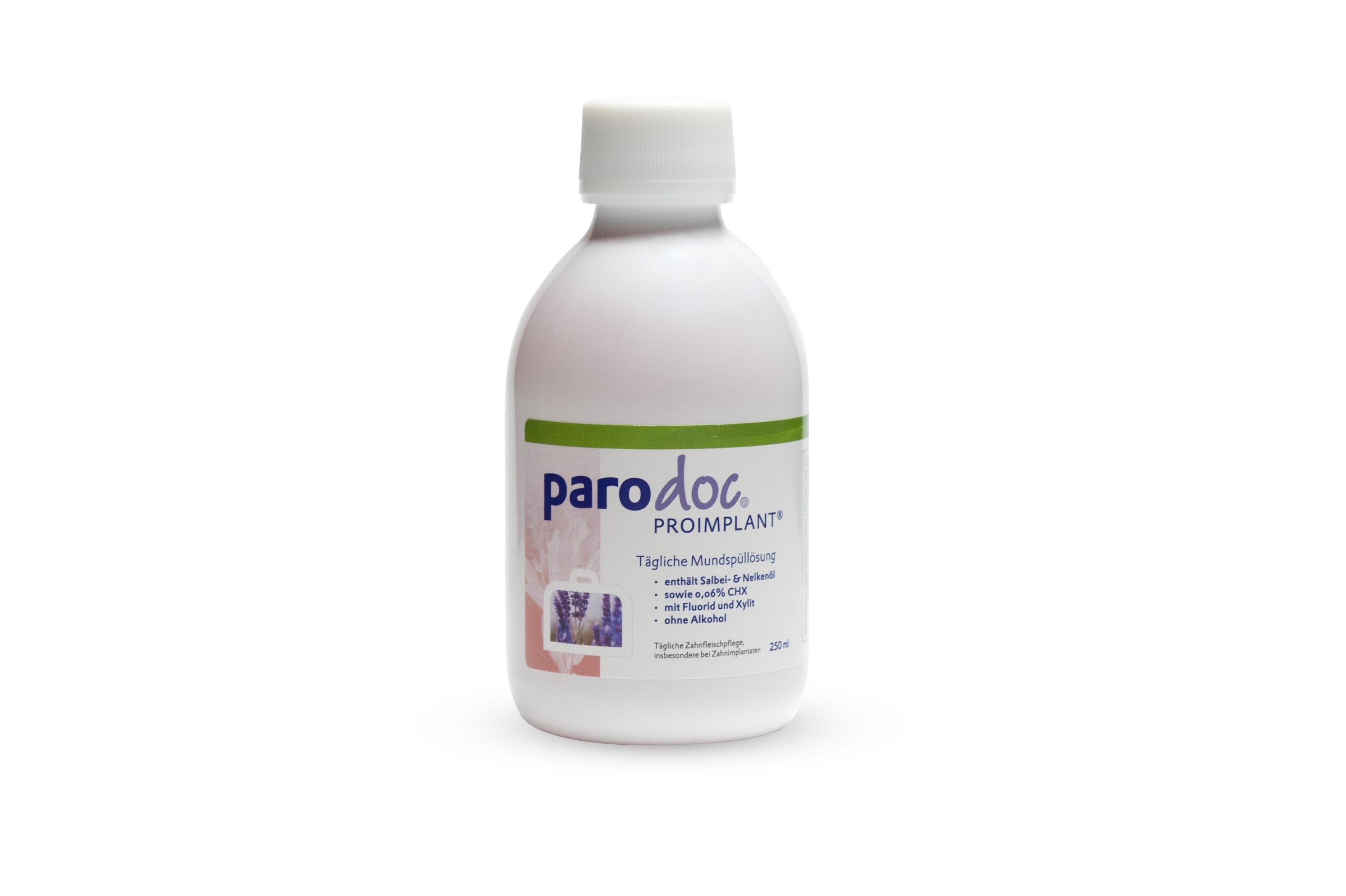 Parodoc Proimplant CHX 0,06% 250ml