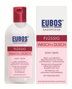 Eubos Wasch- und Duschemulsion ROT Flasche