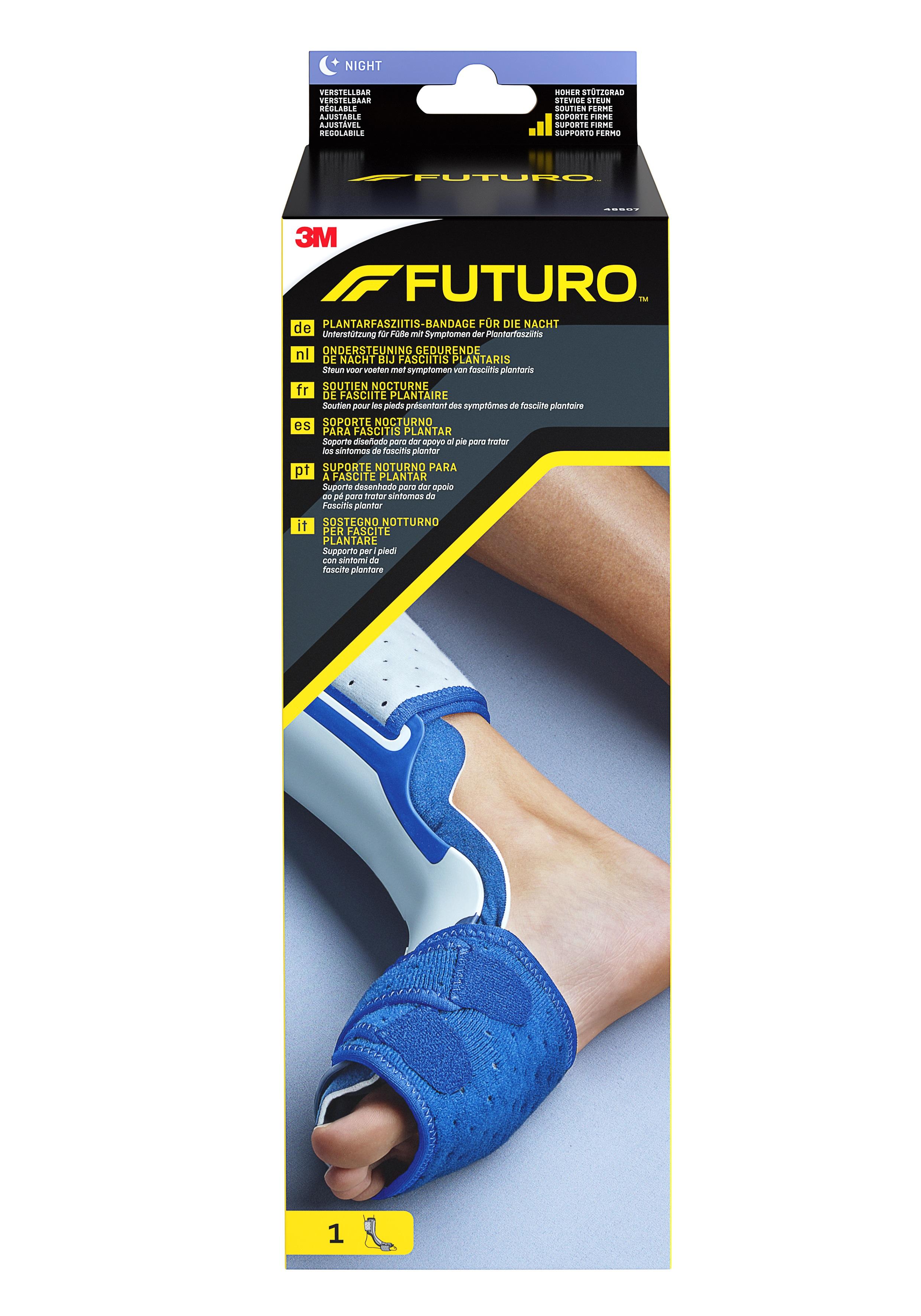 FUTURO™ Plantarfasziitis-Bandage für die Nacht, anpassbar