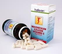 Hafesan Magnesium Kalium Vitamin E Kapseln 60 Stück