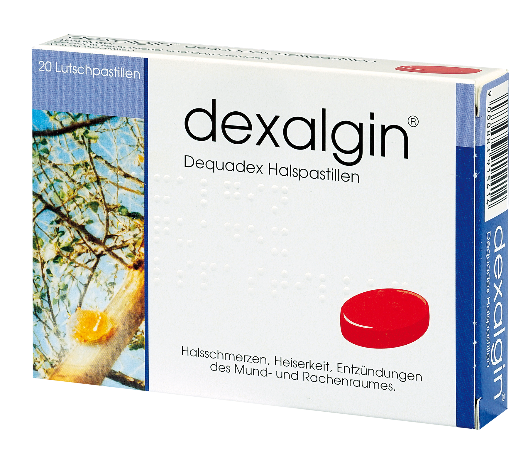 dexalgin Dequadex - Halspastillen