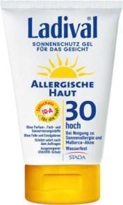LADIVAL® allergische Haut Sonnenschutz Gel für das Gesicht LSF 30