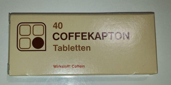 Coffekapton 100 mg - Tabletten
