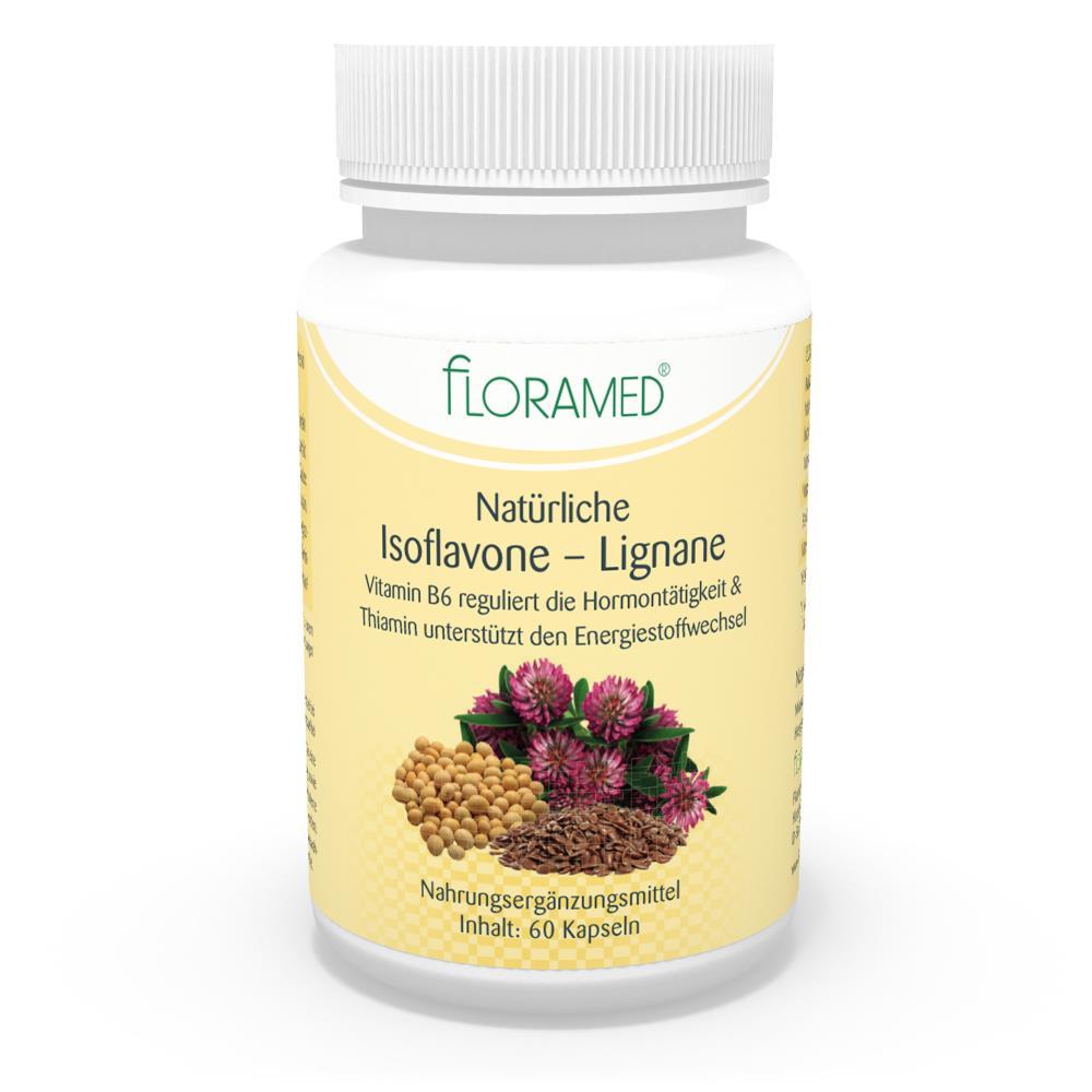 Floramed Natürliche lsoflavone – Lignane Kapseln