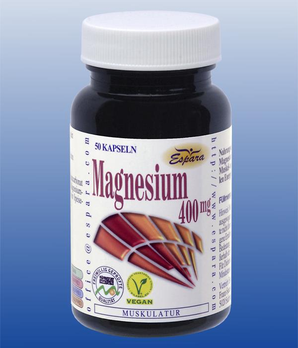 Espara Magnesium-400mg Kapseln