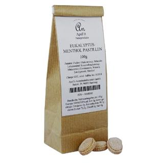 Eukalyptus-Menthol Pastillen zum Lutschen